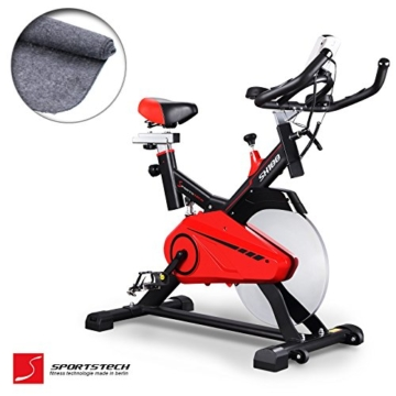 heimtrainer fahrrad sportstech profi sx100. Black Bedroom Furniture Sets. Home Design Ideas