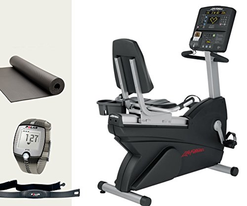 heimtrainer fahrrad life fitness cslr inkl polar ft1. Black Bedroom Furniture Sets. Home Design Ideas