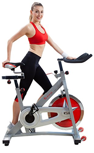 Indoor Cycle - Sunny Health Fitness Heimtrainer Fahrrad